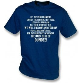 The Dark Blue Of Dundee Kids T-Shirt