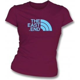 The East End (West Ham) Womens Slim Fit T-Shirt