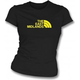 The East Midlands (Burton Albion) Womens Slim Fit T-Shirt