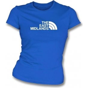 The East Midlands (Chesterfield) Womens Slim Fit T-Shirt