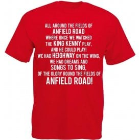 The Fields Of Anfield Road (Liverpool) T-Shirt