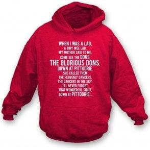 The Glorious Dons (Aberdeen) Hooded Sweatshirt