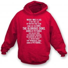 The Glorious Dons (Aberdeen) Kids Hooded Sweatshirt