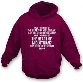 The Heart Of Midlothian Hooded Sweatshirt