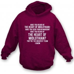 The Heart Of Midlothian Kids Hooded Sweatshirt