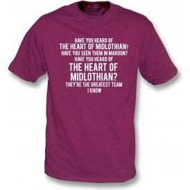 The Heart Of Midlothian Kids T-Shirt