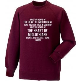 The Heart Of Midlothian Sweatshirt