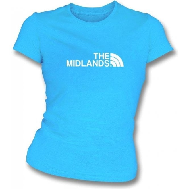 The Midlands (Coventry City) Womens Slim Fit T-Shirt