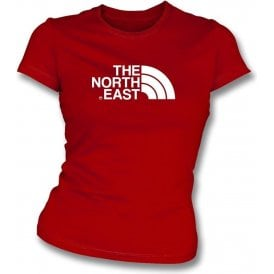The North East (Middlesbrough) Womens Slim Fit T-Shirt