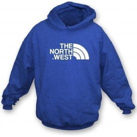 The North West (Blackburn Rovers) Kids Hooded Sweatshirt