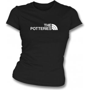 The Potteries (Port Vale) Womens Slim Fit T-Shirt
