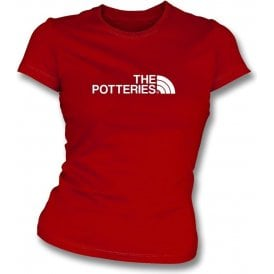 The Potteries (Stoke City) Womens Slim Fit T-Shirt