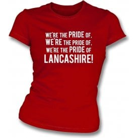 The Pride Of Lancashire (Morecambe) Womens Slim Fit