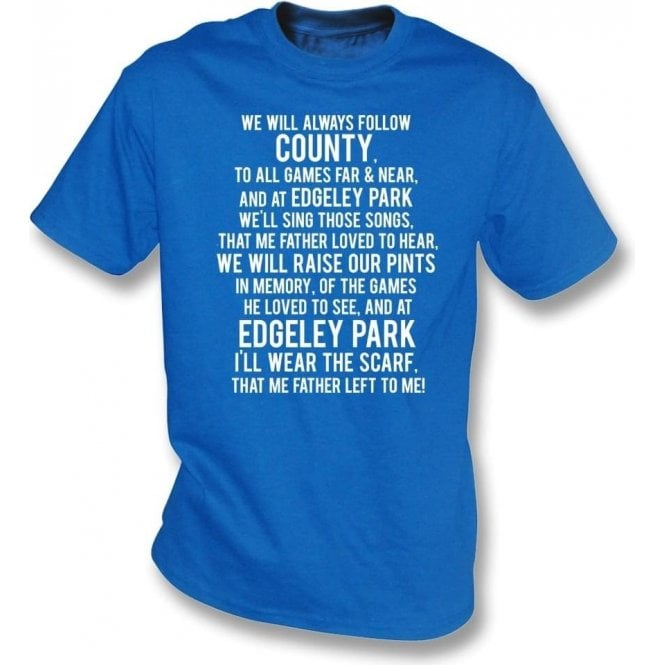 The Scarf My Father Wore (Stockport County) T-Shirt