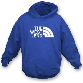 The West End (Queens Park Rangers) Hooded Sweatshirt