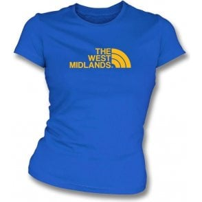 The West Midlands (Shrewsbury Town) Womens Slim Fit T-Shirt