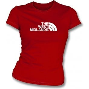 The West Midlands (Walsall) Womens Slim Fit T-Shirt