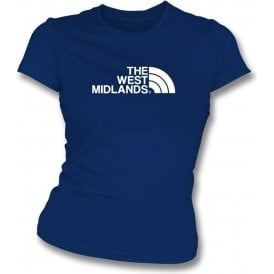 The West Midlands (West Brom) Womens Slim Fit T-Shirt