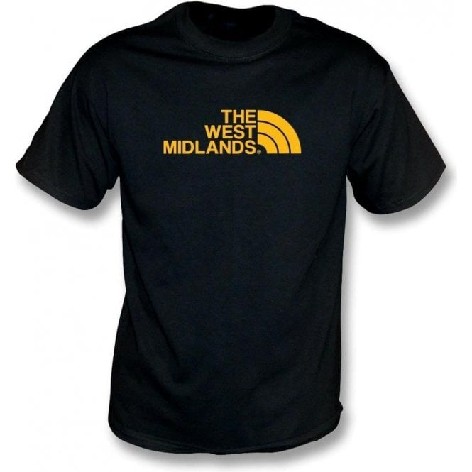 The West Midlands (Wolverhampton Wanderers) Kids T-Shirt