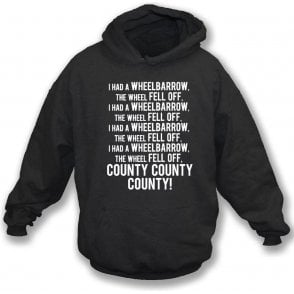 The Wheelbarrow Song (Notts County) Hooded Sweatshirt