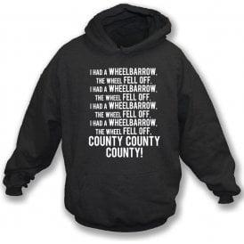 The Wheelbarrow Song (Notts County) Hooded Sweatshirt