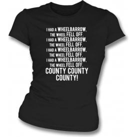The Wheelbarrow Song (Notts County) Womens Slim Fit T-Shirt