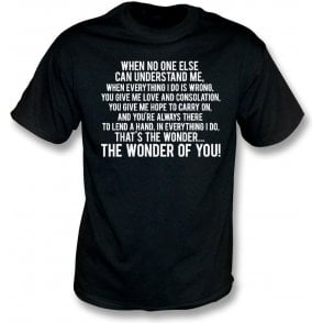 The Wonder Of You (Port Vale) Kids T-Shirt
