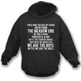 Those Were The Days (Hereford United) Kids Hooded Sweatshirt