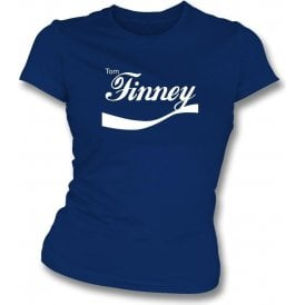 Tom Finney (Preston North End) Enjoy-Style Womens Slim Fit T-Shirt