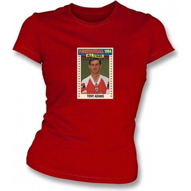 Tony Adams 1994 (Arsenal) Red Women's Slimfit T-Shirt