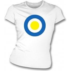 Torquay Classic Mod Target Womens Slim Fit T-Shirt