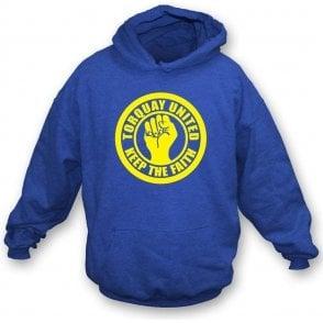 Torquay Keep the Faith Hooded Sweatshirt