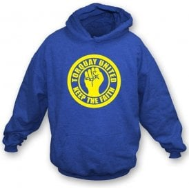 Torquay Keep the Faith Hooded Sweatshirt