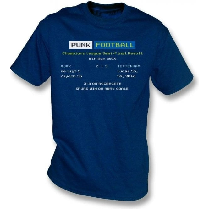 Tottenham Hotspur 2019 Ceefax (Champions League Semi Final) T-Shirt