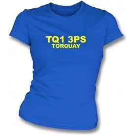 TQ1 3PS Torquay Women's Slimfit T-Shirt (Torquay United)
