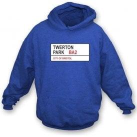 Twerton Park BA2 (Bristol Rovers) Hooded Sweatshirt