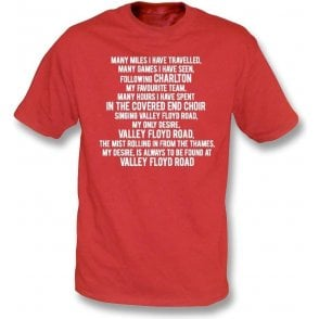 Valley Floyd Road (Charlton Athletic) Kids T-Shirt