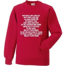 Valley Floyd Road (Charlton Athletic) Sweatshirt