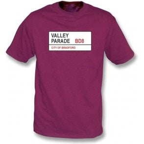 Valley Parade BD8 T-Shirt (Bradford City)