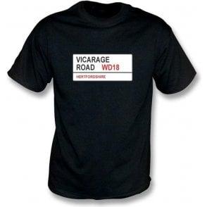Vicarage Road WD18 T-Shirt (Watford)