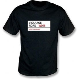 Vicarage Road WD18 T-Shirt (Watford)