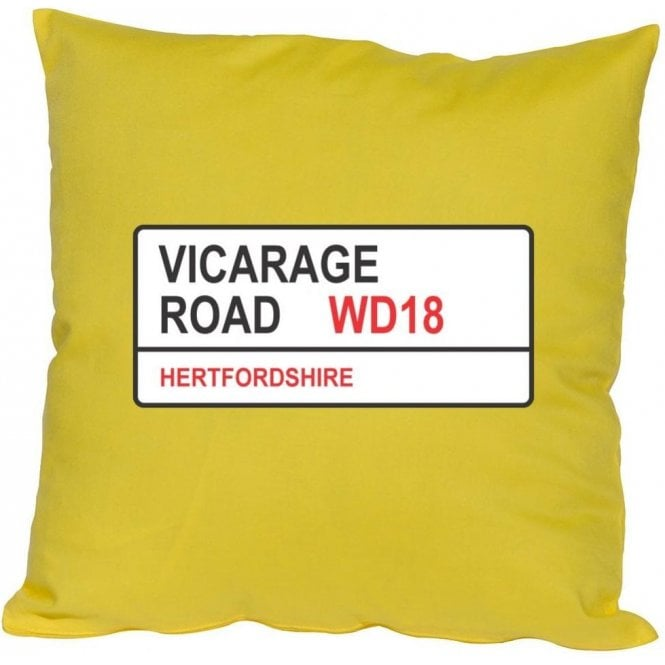 Vicarage Road WD18 (Watford) Cushion