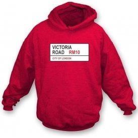 Victoria Road RM10 Hooded Sweatshirt (Dagenham & Redbridge)