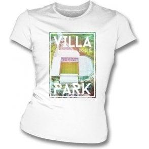 Villa Park B6 6HE (Aston Villa) Womens Slimfit T-Shirt