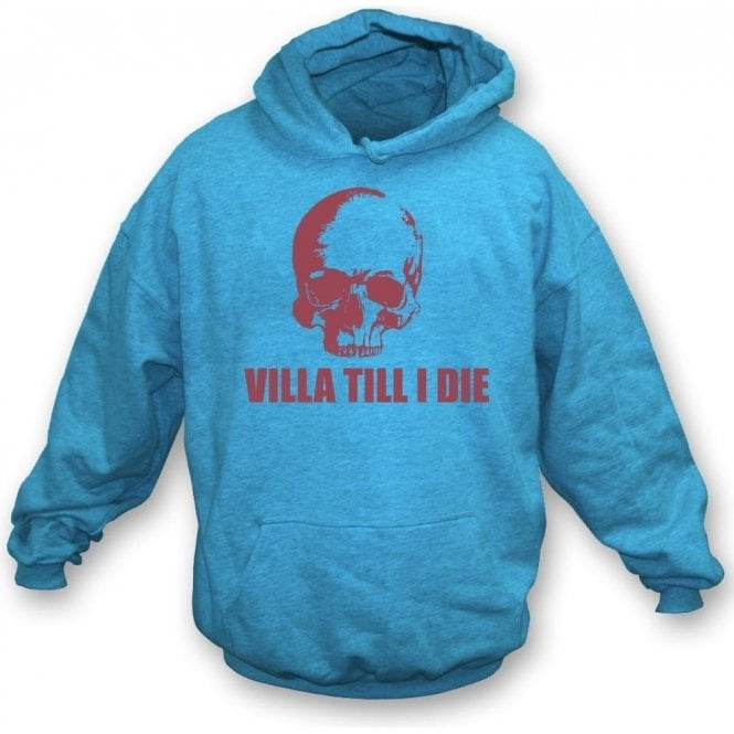 (Aston) Villa Till I Die (Skull) Kids Hooded Sweatshirt