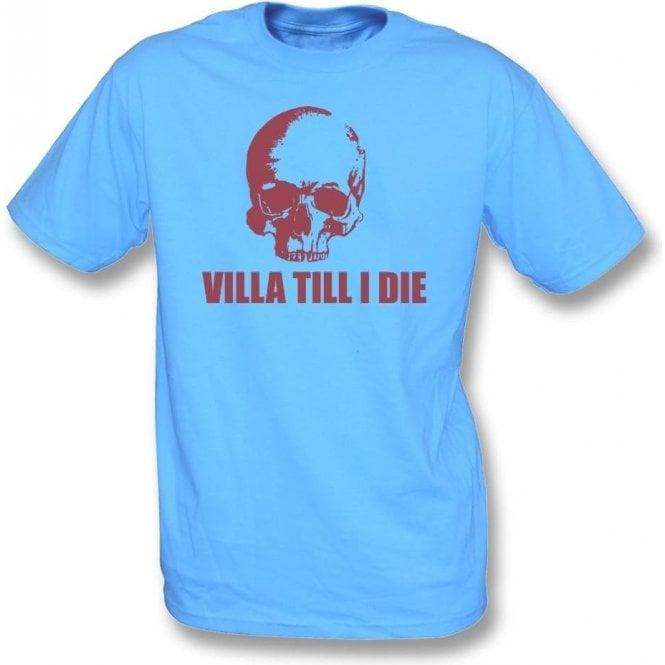 (Aston) Villa Till I Die (Skull) Kids T-Shirt