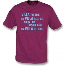 Villa Till I Die T-Shirt (Aston Villa)