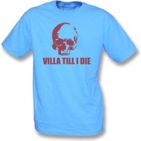 (Aston) Villa Till I Die (Skull) T-Shirt