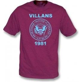 Villans 1981 (Ramones Style) t-shirt