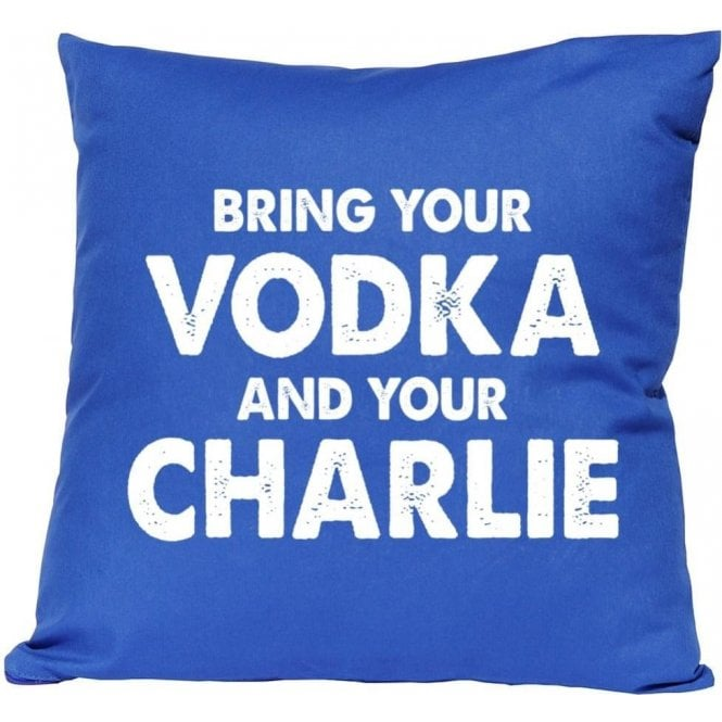 Vodka & Charlie - Jamie Vardy (Leicester City) Cushion